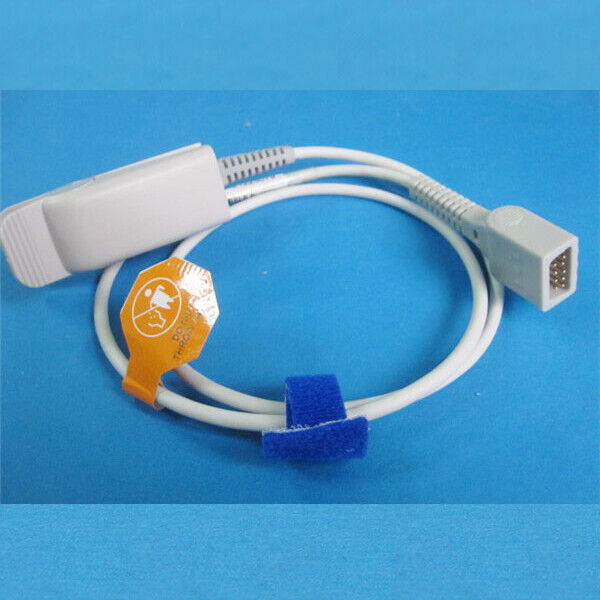 9Pin SpO2 Sensor Probe Cable Wire For Datex Monitor AS/3 CS/3 CH/S CH/S2S CH-RS