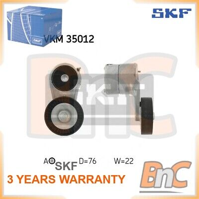 SKF V-RIBBED BELT TENSIONER PULLEY SET OPEL VAUXHALL SAAB CHEVROLET OEM VKM35012 for sale  Shipping to Ireland