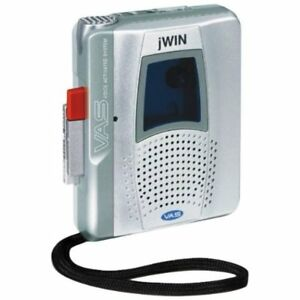 Jwin JXR36 Full Size Handheld Cassette Voice Recorder With Two S