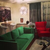 Downtown Charming 3 1/2 + den apartment to rent for 1st July