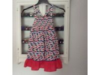 Marks and Spencer Girls Dress Age 6-7Years.