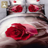 ★FREE SHIPPING★ 3D Print Cotton Duvet Cover Set