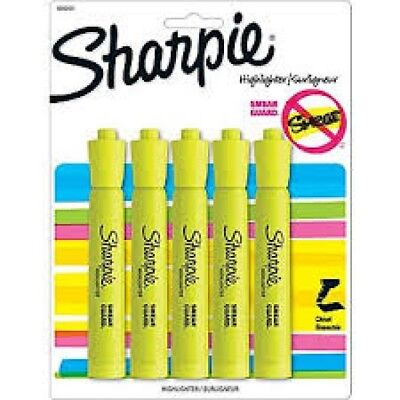 Sharpie Yellow Highlighters 5ct Pack Of 6 30 Highlighters