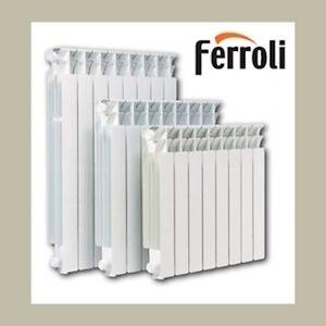 Radiatore alluminio fer ferroli interasse 600 klimterm for Radiatori alluminio ferroli