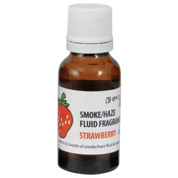 QTX Light Strawberry Smoke / Haze / Fog Machine Fragrance Fluid 20ml