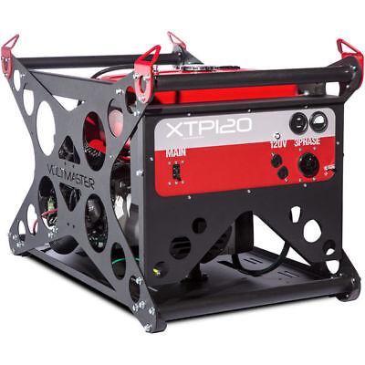 Voltmaster XTP120EV-480 - 12,000 Watt Electric Start Professional Generator w...