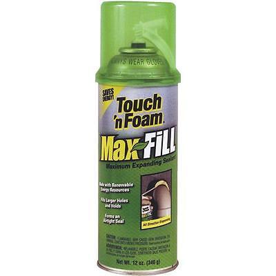 3 Pk Touch N Foam Max 12 Oz Amber Color Expanding Foam Sealant 4001031212