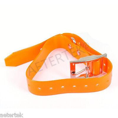 Orange Dog Collar Strap TUP For Aetertek Dog Shock Training System Replacement