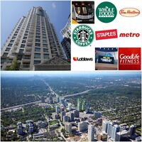 Luxury Condo on Yonge & Sheppard with Parking! FOR SALE