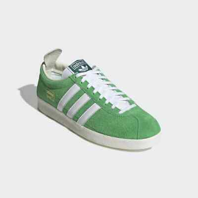 Adidas Gazelle Vintage Originals Green Mens Trainers UK 10 **BRAND NEW**