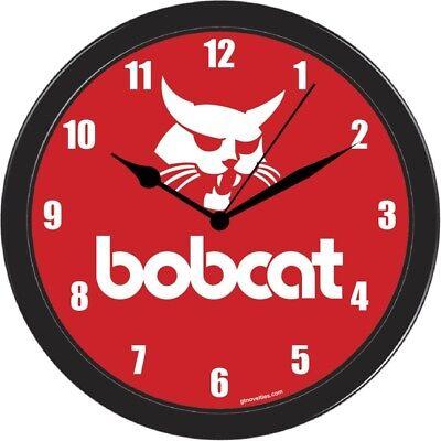 BOB CAT BOBCAT WALL HANING CLOCK SKID STEER LOADER MACHINE for sale  Shipping to Nigeria