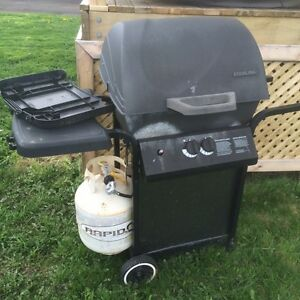 BBQ and propane tank $50