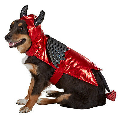 X Large Dog Halloween Costumes (Devil Halloween Dog Pet Costume X-Large (New with)