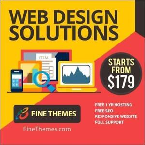 WEB DESIGN SALE - from $179 - Call 647-243-8209 - Free Hosting