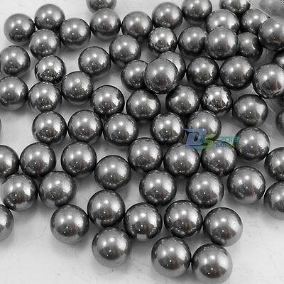 100pcs 10mm Catapult Slingshot Grade 100 G100 Steel Ball Bearing Ammo