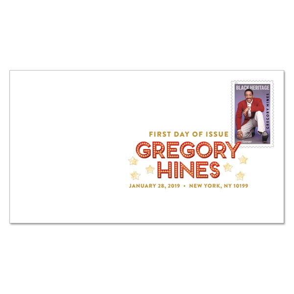 Usps New Gregory Hines Digital Color Postmark