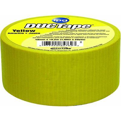 20yds Duct Tape Yellow Intertape Polymer 6720yel For All-purpose Use 3 Roll Pk