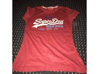 Women's superdry t shirt