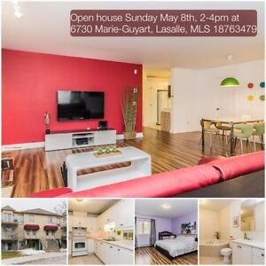 Open house Sunday May 8th, 2-4pm at 6730 Marie-Guyart, Lasalle