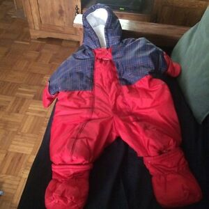 Baby boy snowsuit and hoodies