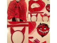 Unisex devil Halloween items