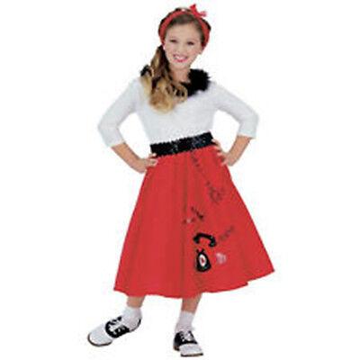 CLASSIC 50'S FAVORITE JITTERBUG GIRL HALLOWEEN COSTUME CHILD SIZE MEDIUM 8-10](Favorite Halloween Costumes)