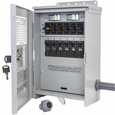 Reliance Controls Protran 2 - 30-amp 120240v 6-circuit Outdoor Transfer S...