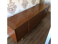 Large Wooden 6ft Retro Sideboard.