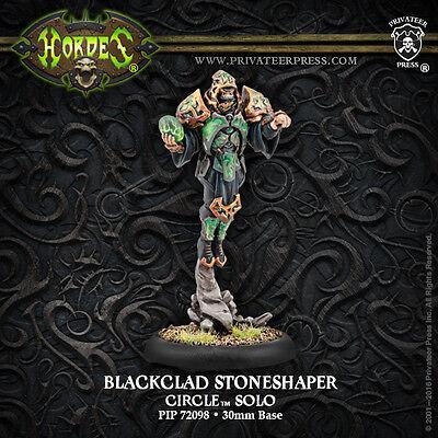 Hordes: Circle Orboros - Blackclad Stoneshaper - Solo PIP72098 NEW