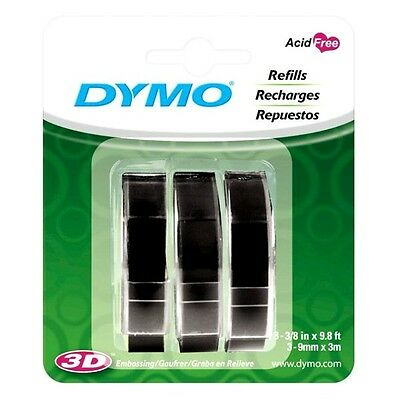 Dymo 1741670 Embossing Tape Refill For Express Label Maker 3 Pack