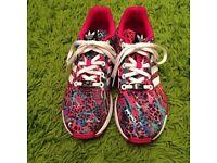 Ladies adidas flux trainers sz 5