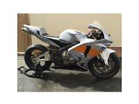 Honda cbr 600rr track bike