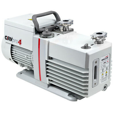 Welch Crvpro Direct Drive Rotary Vane Vacuum Pump Crvpro4 2.8 Cfm