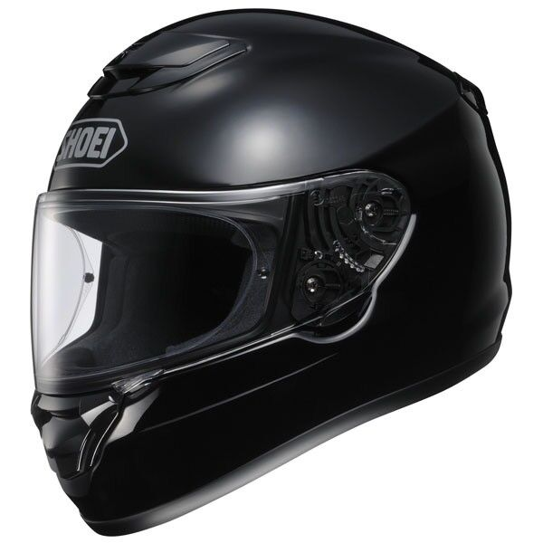 Shoei Qwest - Gloss Black Helmet - Gloss black - few minor marks due to being high gloss - Size Med