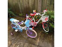 Girls bicycles
