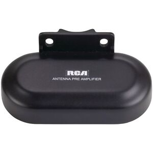 RCA-TVPRAMP1R-Outdoor-UHF-VHF-TV-Antenna-Preamplifier-Signal-Booster