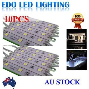 12V-LED-waterproof-Strip-Module-Light-Cool-white-Garden-Camping-Boat-Bar-Caravan