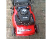 Mountfield 454 petrol lawnmower selfpropelled