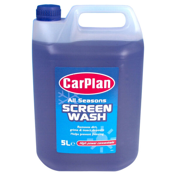 CarPlan Screen Wash Ready to Use - Quickly removes dirt, grime and insects