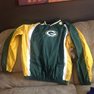Brand new with tags Green Bay packers jacket