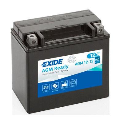 EXIDE AGM 12 12 YTX14 BS TRIUMPH DAYTONA 955I SPRINT ST RS 99 04 BATT