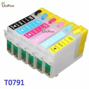 Epson T079120/T079220/T079320/T079420/T079520/T079620  High-Capacity New Compatible  Ink Cartridge Combo Set