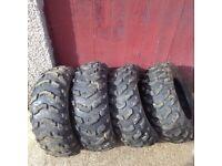 Quadbike 4x4 tyres
