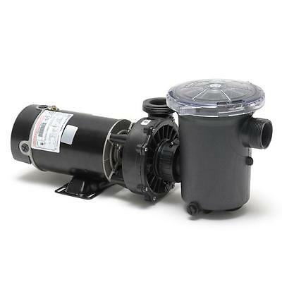 Waterway Hi Flo Vertical Discharge 1 HP Above Ground Pool Pump 115V w/ Power Cor