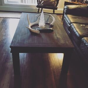 Coffee table with character