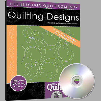 Electric Quilt Quiltmaker Quilting Designs Volume 8 Softw...