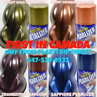 FIRST IN CANADA: NEW Plasti Dip METALIZER and PEARLIZER