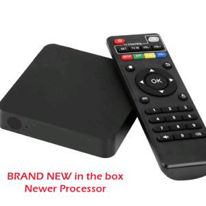 Brand New Android TV box new processor