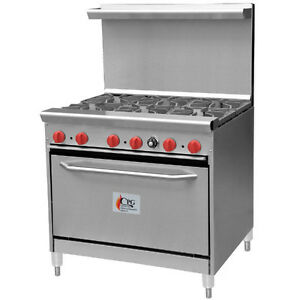6 BURNER RANGE WITH OVEN - BRAND NEW
