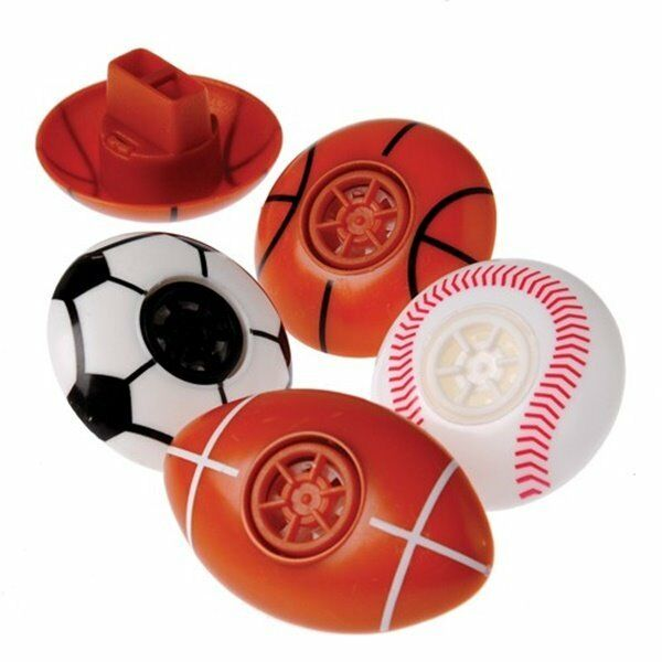 12  Soccer Capsule Party Favors Team Sport